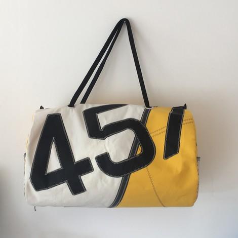 01 sac de sport jaune 457 bocarre