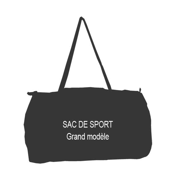grand sac de sport en voile de bateau sur mesure bocarre. Black Bedroom Furniture Sets. Home Design Ideas