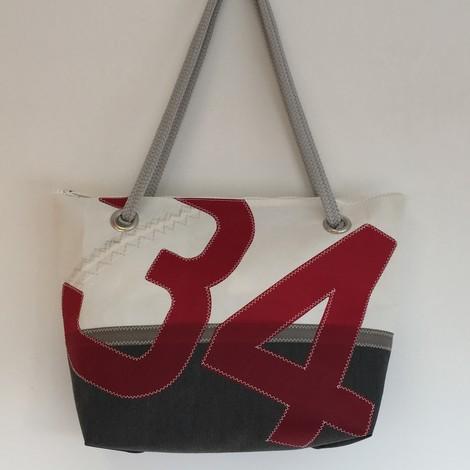 sac de ville grand mod le bo carre en voile de bateau recycl e. Black Bedroom Furniture Sets. Home Design Ideas