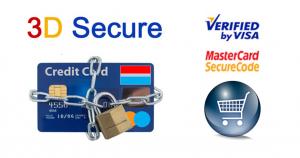 3 D secure logo de sécurité de paiement bancaire