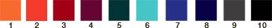 couleurs bas de sac en voile de bateau sur mesure