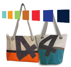 2 exemples de sac aux couleurs vives