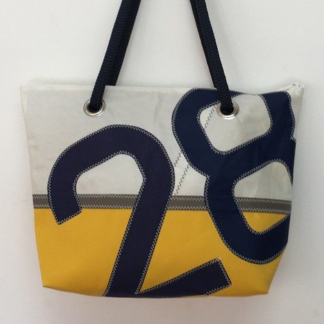 01 sac de ville GM jaune 28 marine bocarre