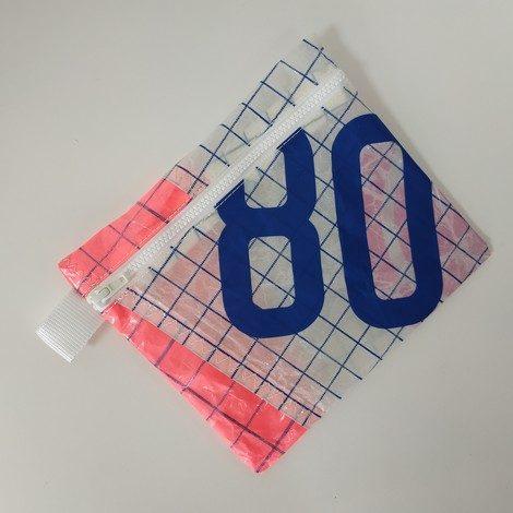pochette maillot bain blanche rose 80 bleu roi 01