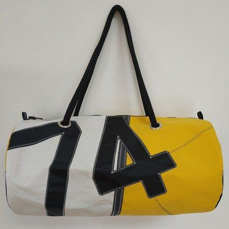 sport MM jaune numéro 74 noir 01