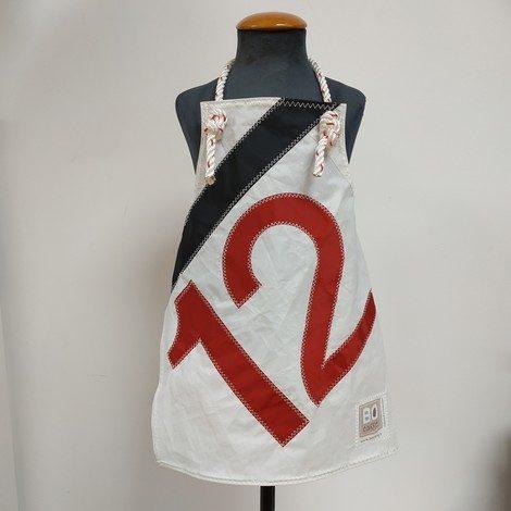 tablier enfant blanc noir 12 rouge 01
